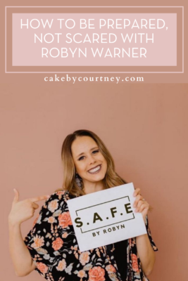 safety tips that will save your life. www.cakebycourtney.com