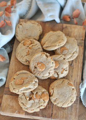 Butter Pecan Caramel Cookies