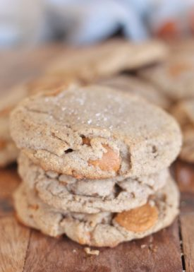 Melt in Your Mouth Butter Pecan Caramel Cookies