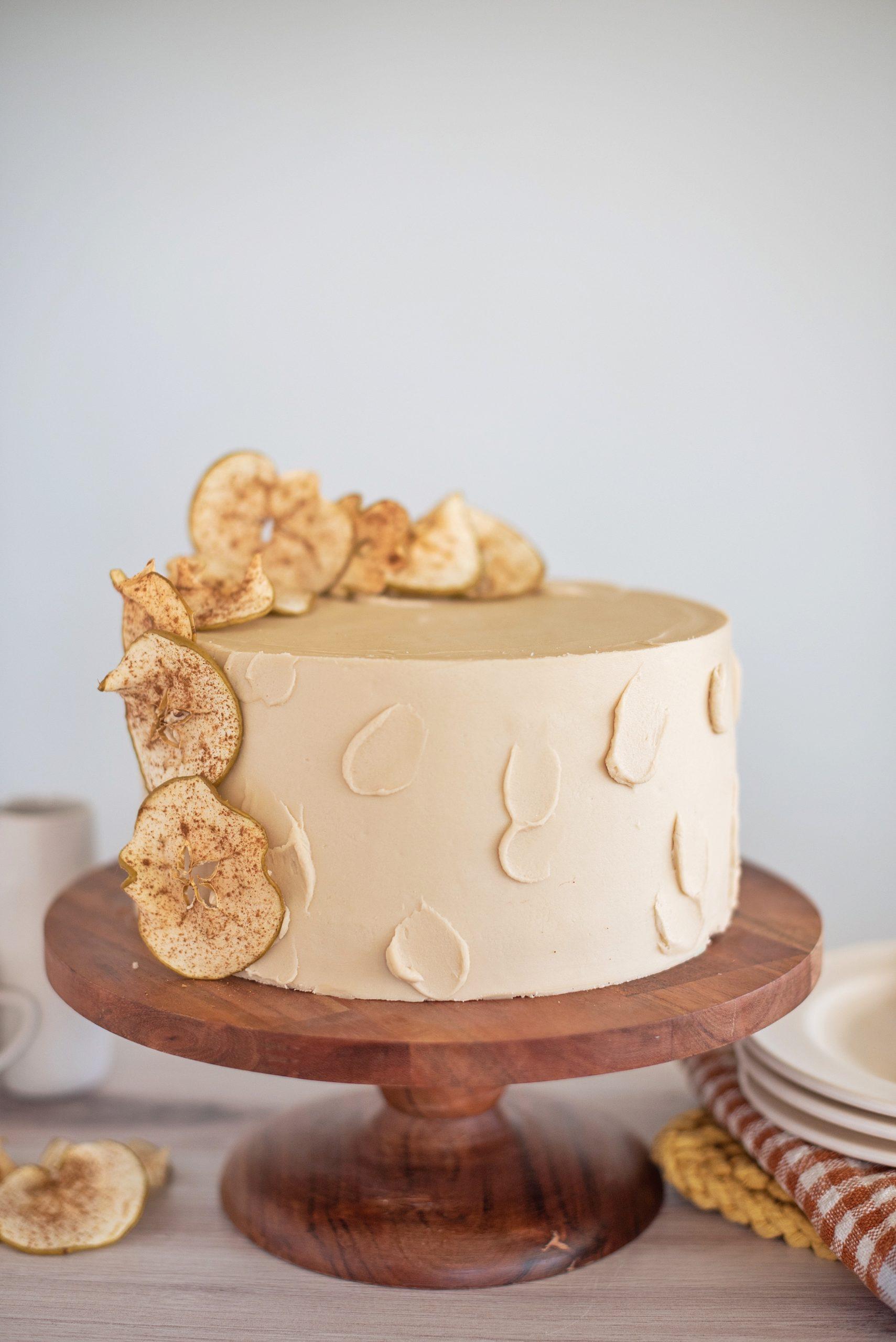 Sweet and Savory Apple Ricotta Bacon Cake