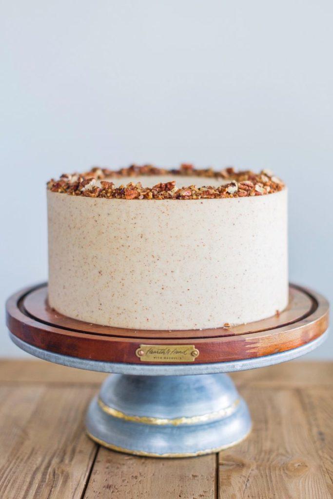 how to bake a sweet potato cake. www.cakebycourtney.com