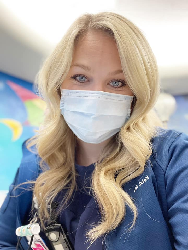 Honoring Nurses with Kelsi Flygare | Cake by Courtney