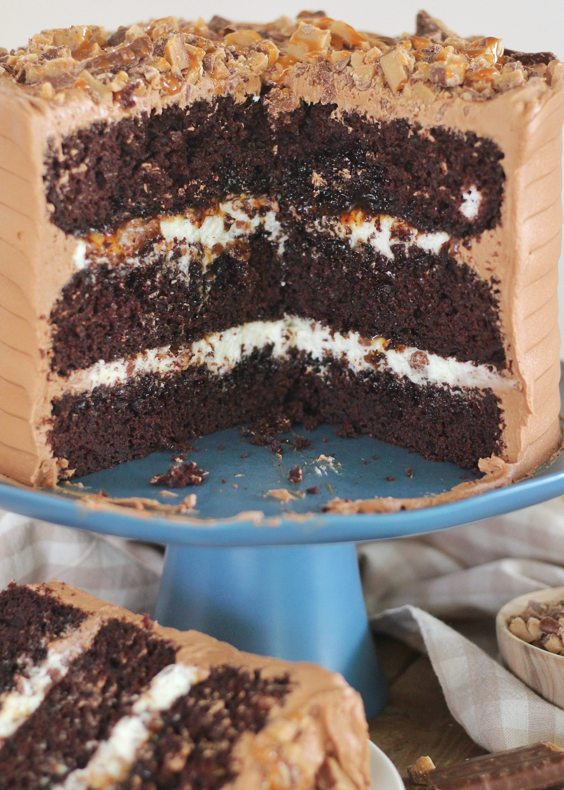 Layers of the Better Than Anything Cake